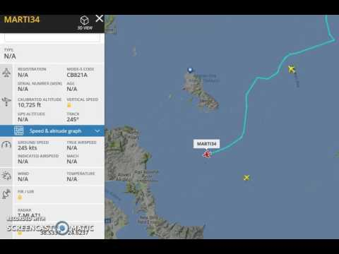 Turkish military aircraft violates Hellenic airspace (Aegean sea)