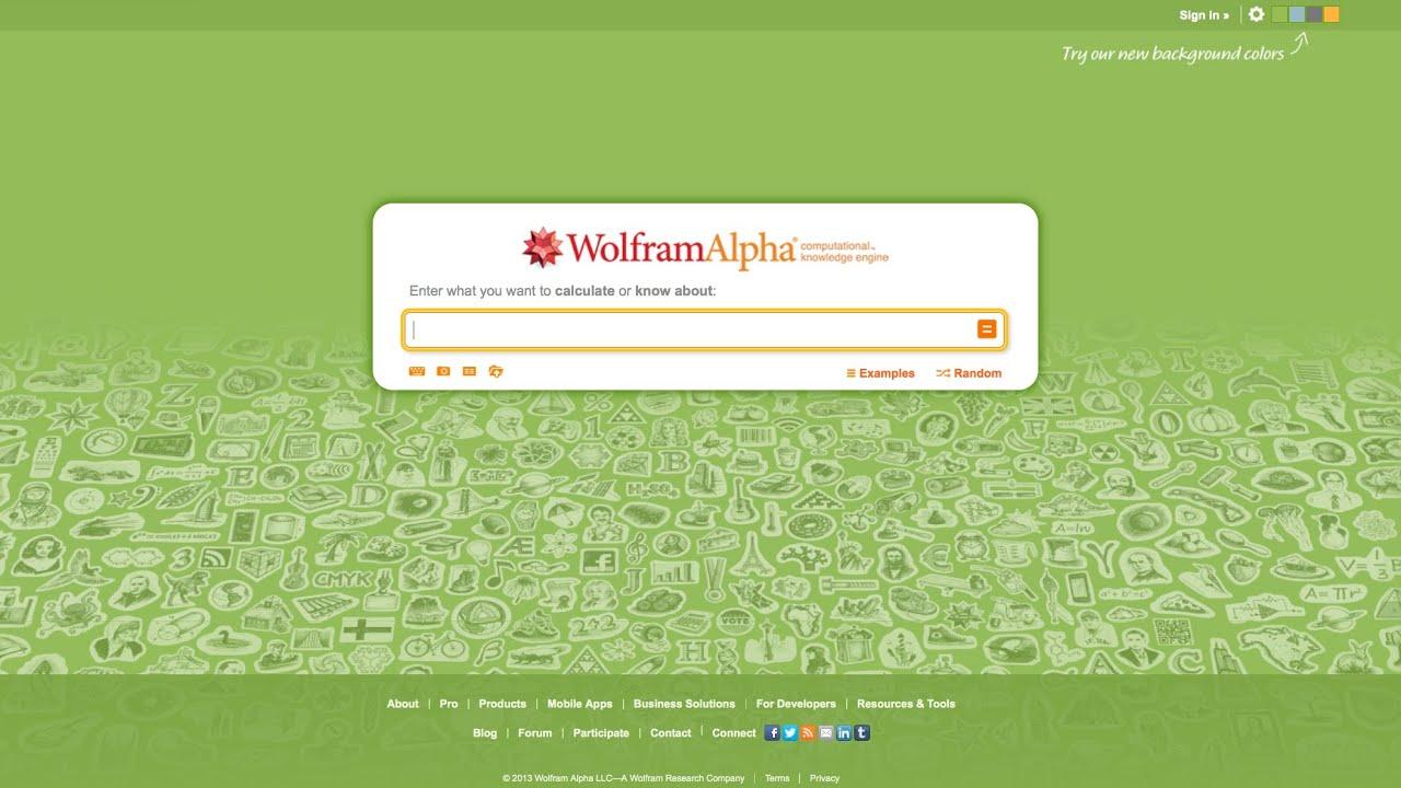 How To Use Wolframalpha To Analyze Companies And Stocks Youtube