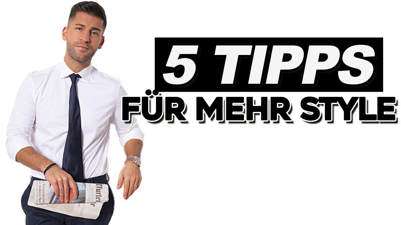 STYLE TIPPS FÜR MÄNNER   Kosta Williams - YouTube
