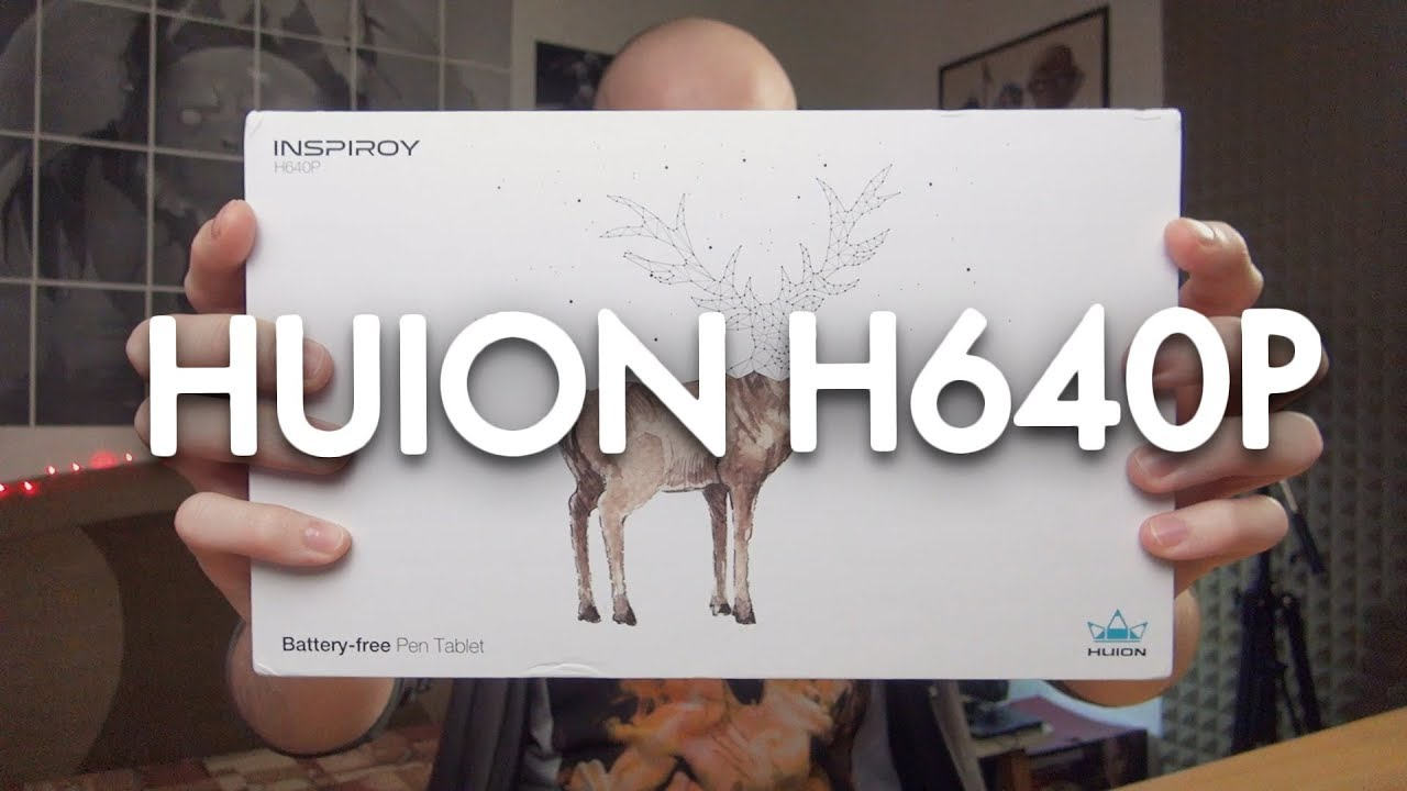 Drawing Tablet In Your Bag Huion H640p Review Youtube