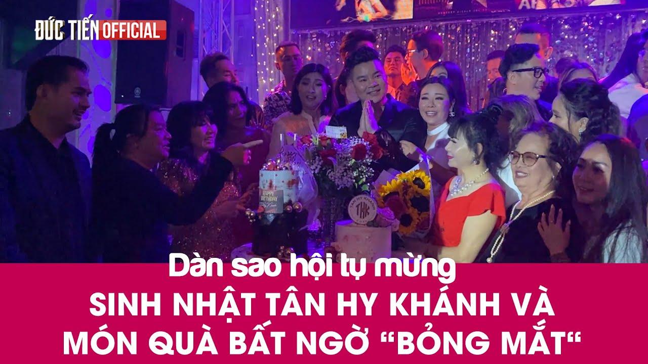 """Dàn Sao Việt tại Mỹ mừng sinh nhật Tân Hy Khánh và món quà bất ngờ vô cùng """"hot"""" - DucTien Official"""