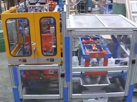 Rocheleau SPB-3 Blow Molding Machine 2 Head Gallon