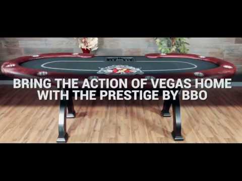 Prestige Poker Table // Folding Legs // Suited Speed (Black) video thumbnail
