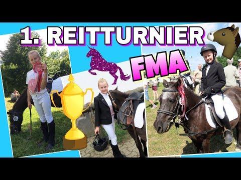 FMA  Mein 1. Reitturnier 🏆 Reiterwettbewerb coole Mädchen🐴