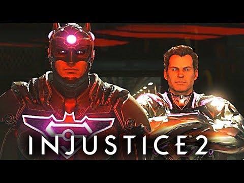 Injustice 2 Final Alternative Ending - Batman Vs Superman Vs Justice League (BAD Ending) 1080p