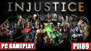 Scorpion Vs Bane - Injustice Gods Among Us Ultimate Edition PC Gameplay (HD)