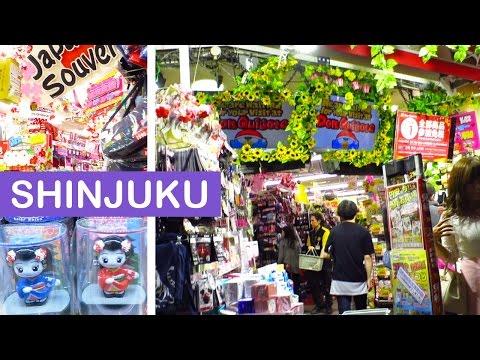 Don Quijote in Shinjuku & Night Shopping 新宿 | TOKYO, JAPAN VlOG