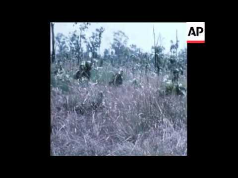 SYND 21-4-72 SOUTH VIETNAMESE FORCES ADVANCE UP HIGHWAY THIRTEEN