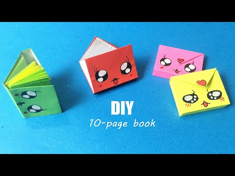 DIY MINI NOTEBOOKS ONE SHEET OF PAPER | DIY Back to School | Easy Origami Book | Paper Crafts