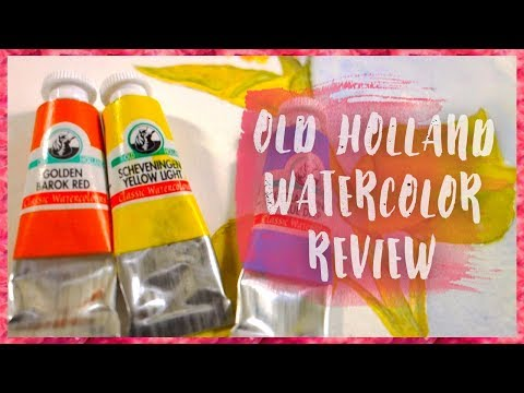 Old Holland Watercolor | Art Supply Review