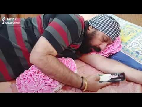 Husband Wife Diyaan Gallan(Part-8)   Holi Special    Comedy Video    BUNTY SHANI    Holi 2K19