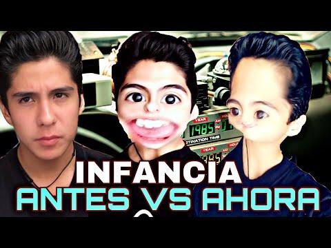 NIÑOS ANTES VS AHORA //AXEL PARKER