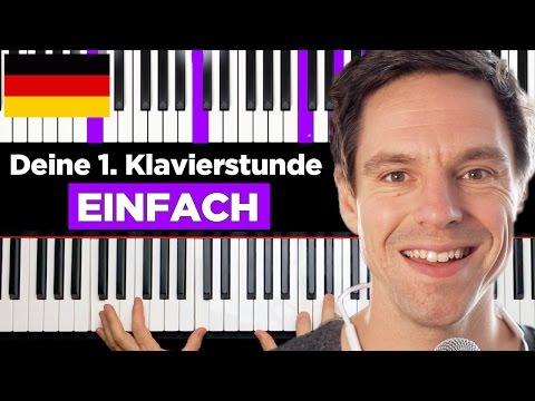 Klavier lernen - Deine 1. Klavierstunde