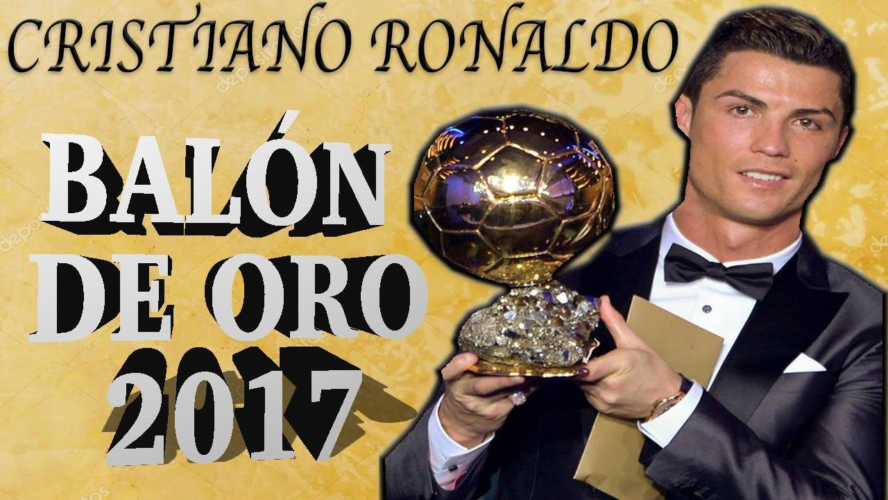 Cristiano ronaldo bal n de oro 2017 by piqu youtube for Peinado cristiano ronaldo 2017