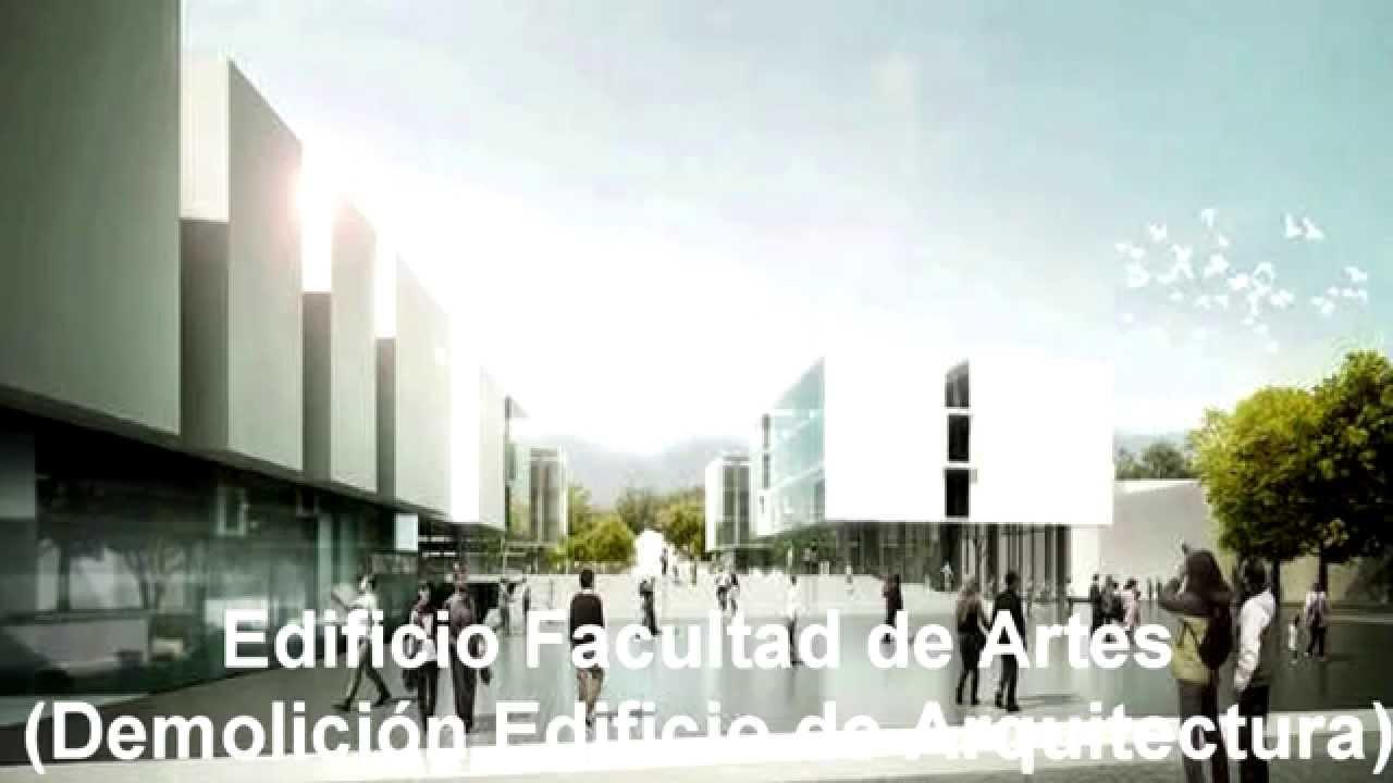 Universidad nacional de colombia edificios facultades de for Universidad de arte