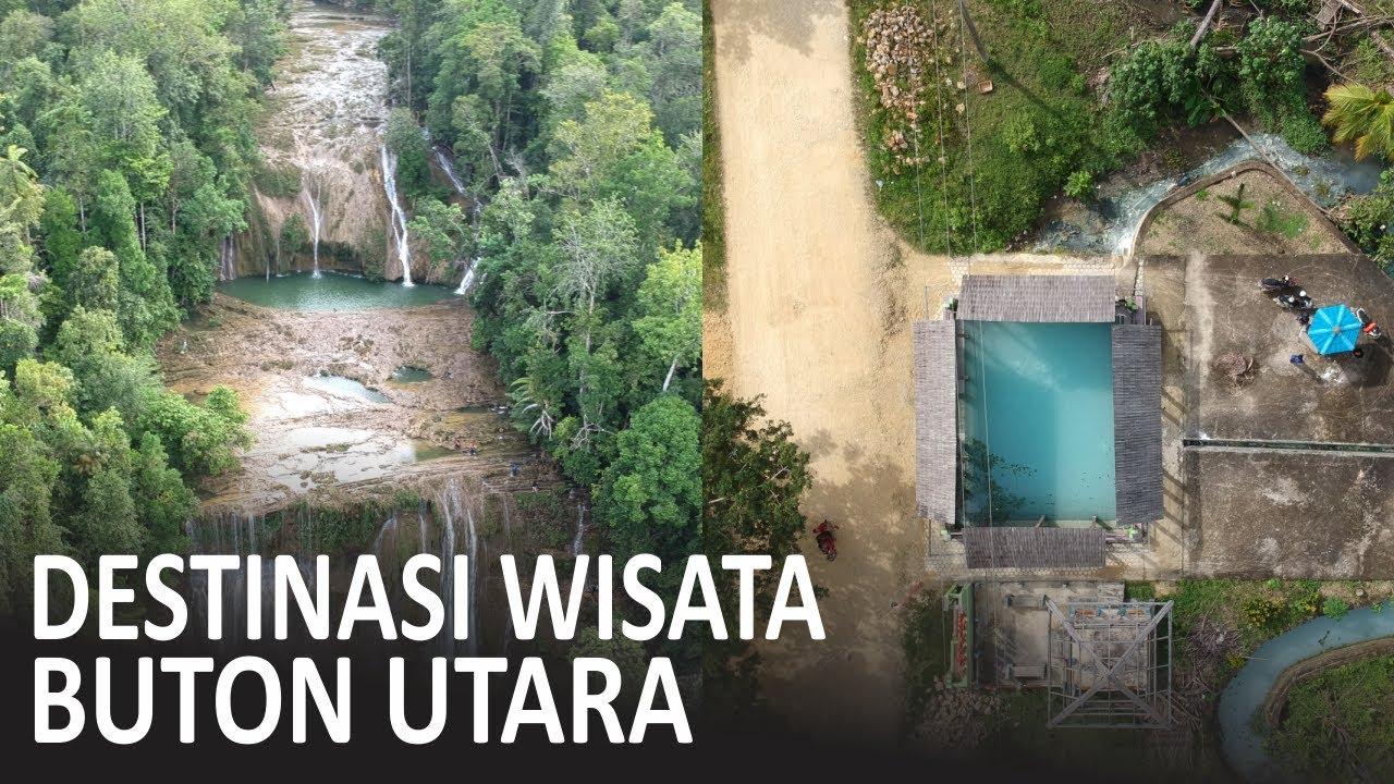 Wisata Air Terjun Kabupaten Buton Utara