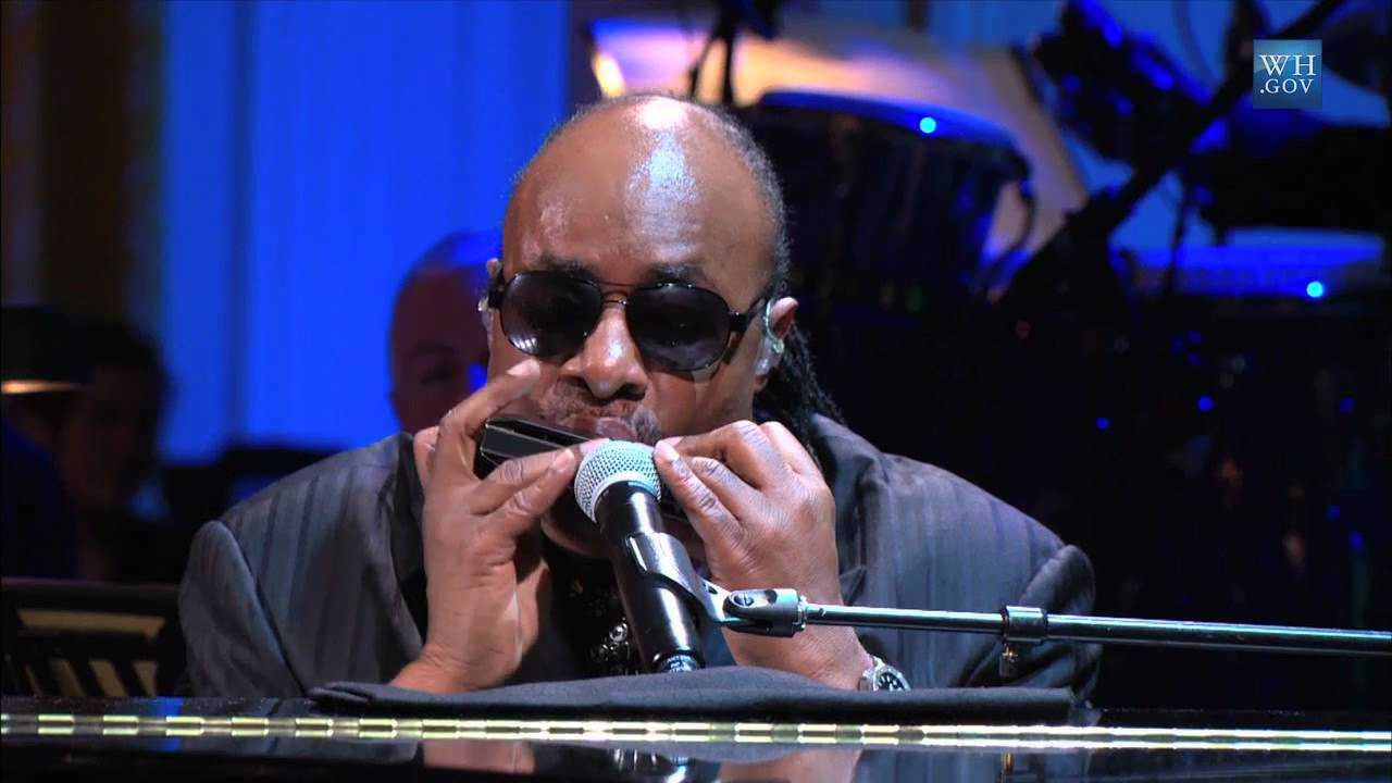"Stevie Wonder | performs ""Alfie"" at the Gershwin Prize for Hal David and Burt Bacharach"