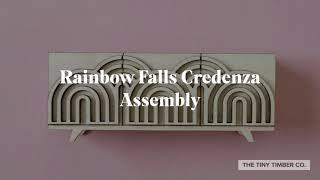 The Tiny Timber Co: Rainbow Falls Credenza