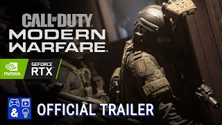Call of Duty Modern Warfare Ray Tracing Gameplay - RTX Trailer