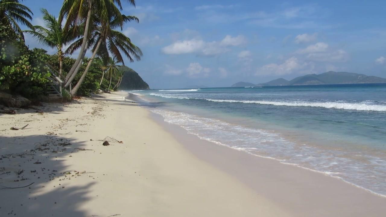 Walk Along Long Bay Tortola Bvi You