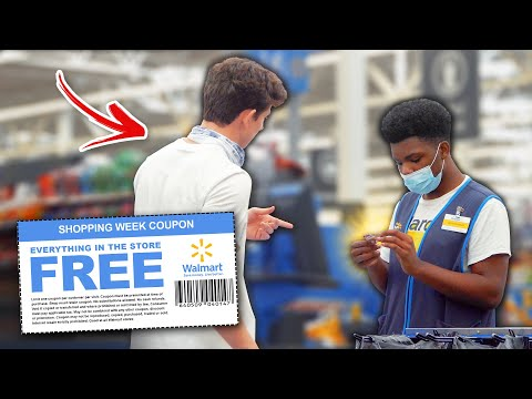 Trying to Use FAKE COUPONS Prank!