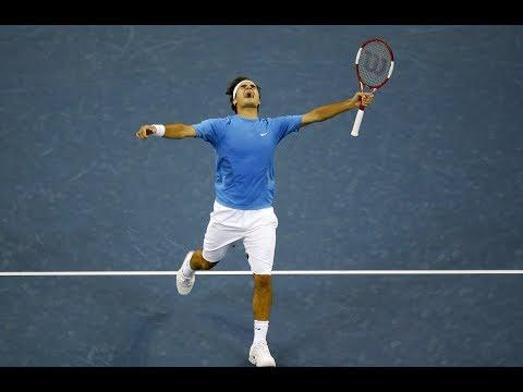 Roger Federer Bests Marin Cilic