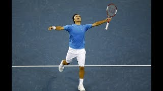 Roger Federer Bests Marin Cilic thumbnail