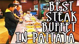 PATTAYA BEST RESTAURANT  - ALL SEASONS STEAK BUFFET