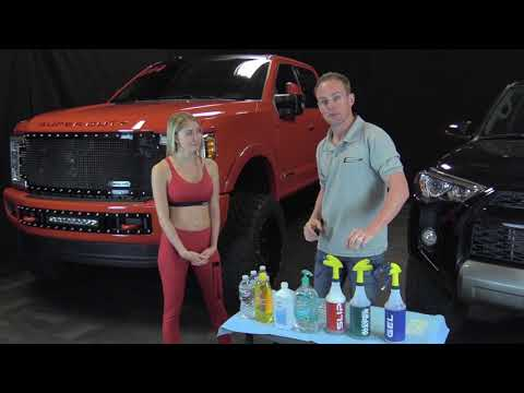 Solutions Used For Clear Paint Protection Film (Clear Bra) and Window Film Installation