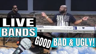 Gospel Music Live Band Etiquette  - Javad Day - The Good, Bad & Ugly For Church Musicians!
