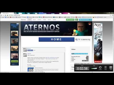 Aternos - Minecraft Server erstellen! - YouTube