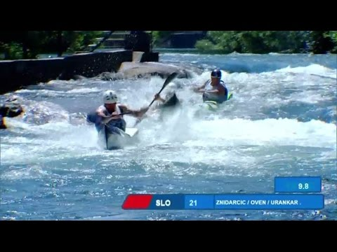 2017 ECA Wildwater Canoeing European Championships, Skopje (MKD) - Sprint Team Final
