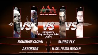 GRUPO 1 REY DE REYES 2015- naucalpan 2015 aerostar vs superfly vs monster vs pirata