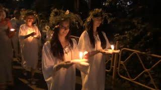 Ночь Ивана Купала - ночь чудес Лесосибирск  2014 год 5 июля