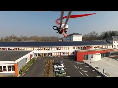 Survol Saint Aubin la Salle - Projet Organic Drone