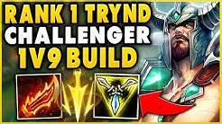 #1 TRYNDAMERE WORLD BEST BUILD POSSIBLE (CHALLENGER 75% WINRATE) - League of Legends