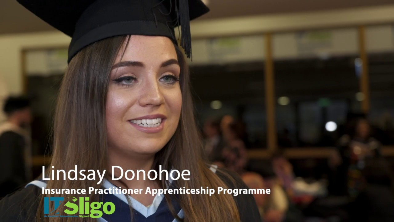 IT Sligo Online Graduate Story: Insurance Practitioner Programme