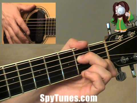 Ain\'t No Sunshine Chords - YouTube