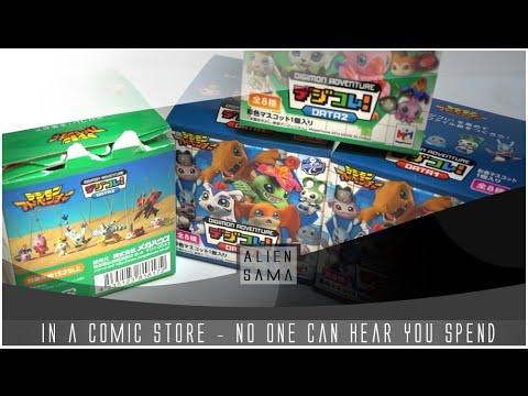 [ Blind Boxes ] Digimon Mega House Mini Figures [ Mystery ]