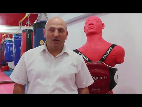 New ArmFighting MMA GYM in Yerevan, Armenia. Sakharov square HD