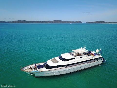 "Brooke Marine 35m ""Deep Blue"" - Ensign Ship Brokers (EPM 491)"