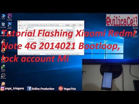 Tutorial Flash Redmi Note 4G (2014021)