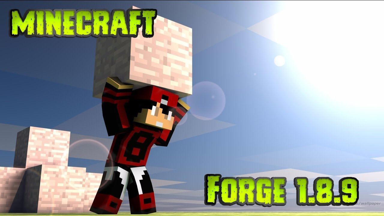 how to download forge 1.8 9
