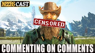 We're Being Censored! - Commenting on Comments
