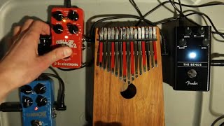 Ambient Kalimba - Flashback & Hall Of Fame (Effects Pedals)