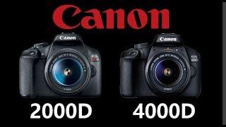 Canon EOS 2000D vs Canon EOS 4000D