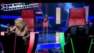 Andreea Olariu - I surrender - Vocea Romaniei - Auditii pe nevazute - Sezon 2 - Editia 3