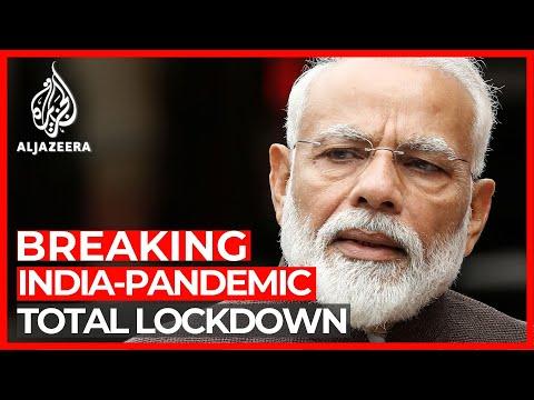 India locks down