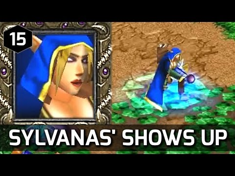 Warcraft 3 Story ► Sylvanas Windrunner's First Appearance - Undead Campaign (Reign of Chaos)