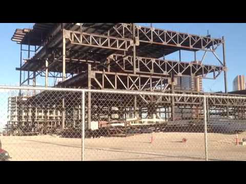 Las Vegas Stardust Casino Property Today 2016, an empty shell called Resorts World.